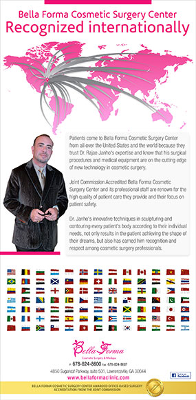 Bella Forma Cosmetic Surgery Center Recognized Internationally