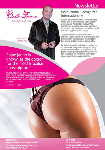 Bella Forma Cosmetic Surgery Center – December 2012