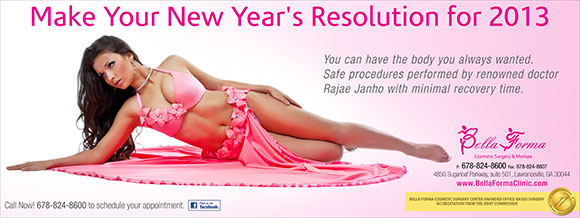 Make Your New Year's Resolution for 2013
