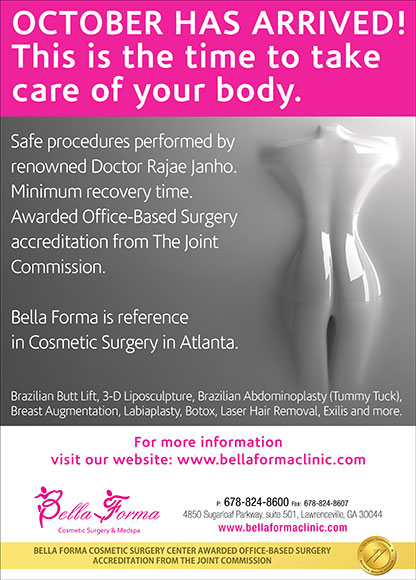 October has arrived! This is the time to take care of your body