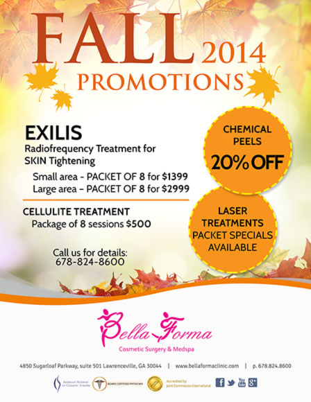 Fall Promotions 2014