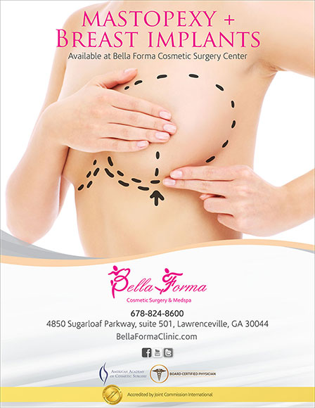 Mastopexy Surgery in Atlanta